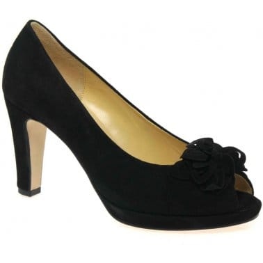 Moonlight Womens Peep-Toe Court Shoes