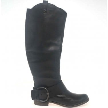 Cara Yuzu Womens Leather Long Boots