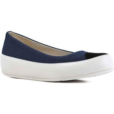 FitFlop Due Canvas Womens Casual Shoes