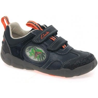 Stompo Jaw Boys Velcro Fastening Casual Shoes