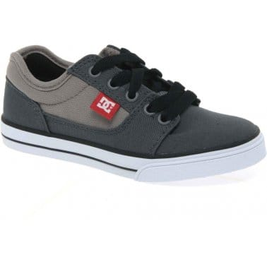 DC Shoes Bristol Boys Canvas Lace Up Casual Shoes