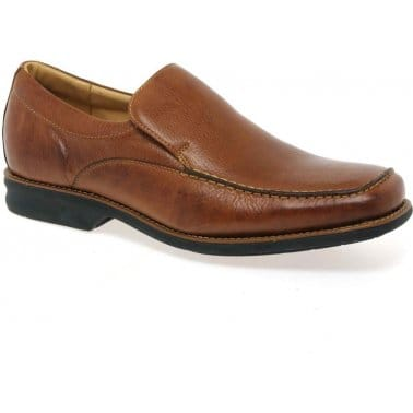 New Bahia Mens Leather Slip-On Shoes