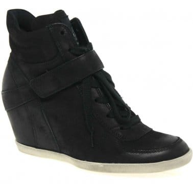 Wedge Womens Hidden Wedge Ankle Boots