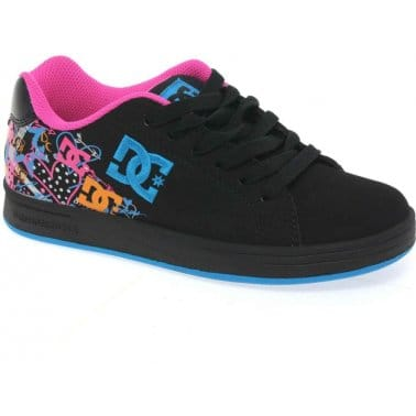 DC Shoes Pixie Squiggle Girls Lace Up Trainers