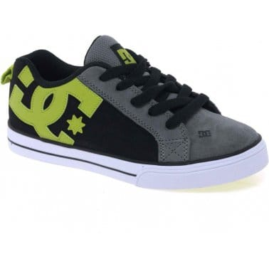 DC Shoes Court Graffik Boys Lace Up Trainers