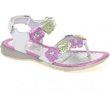 Lelli Kelly Crab Girls Velcro Fastening Sandals