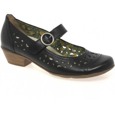 Mellow Womens Buckle Fastening Casual Shoes