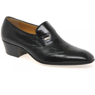 Paco Milan Cuba Leather Slip on Formal Mens Shoes