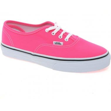 Vans Authentic Girls Lace Up Canvas Shoes