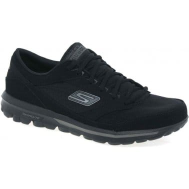 Skechers On The Go Mens Lace Up Trainers