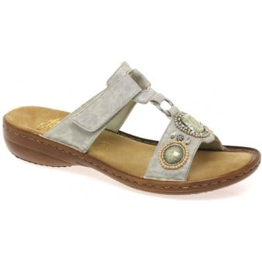 Astona Jewel Trim Ladies Sandals