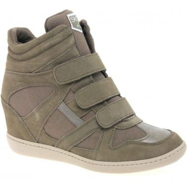 Skechers Raise The Bar Womens Hidden Wedge Boots