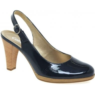 Gabor Cedarwood Womens Slingback Court Shoes