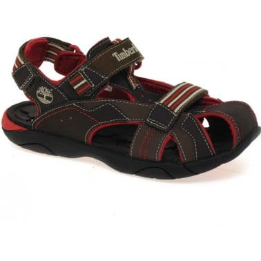 Timberland Dune Fisherman Junior Boys Velcro Fastening Sandals