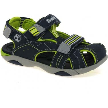 Timberland Dune Fisherman Youth Boys Velcro Fastening Sandals