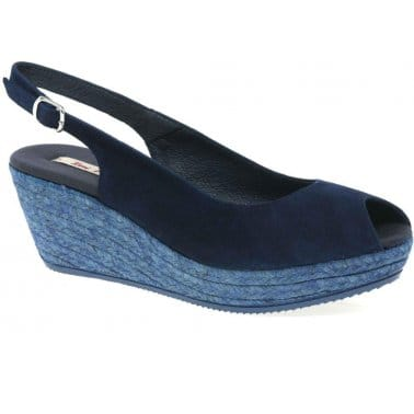 Toni Pons Edina Womens Slingback Wedges
