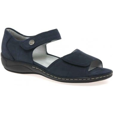 Denver Womens Velcro Fastening Sandals