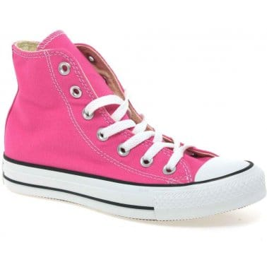 All Star Hi Top Junior Girls Canvas Boots