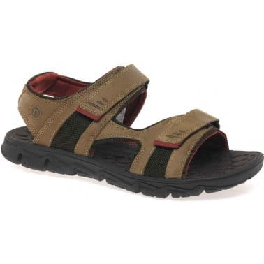 Rockport Roc Lite 3 Strap Mens Sandals