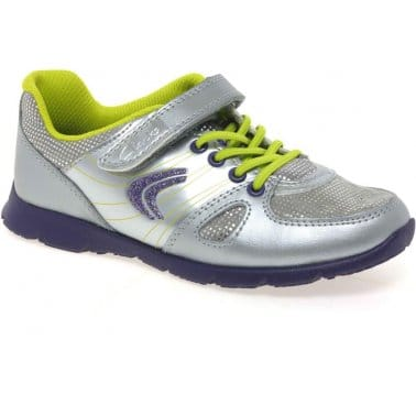 Clarks Prance Star Girls Trainers