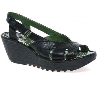 Yisa Womens Velcro Fastening Sandals