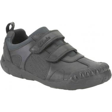 Stompo Day Infant Boys School Shoes