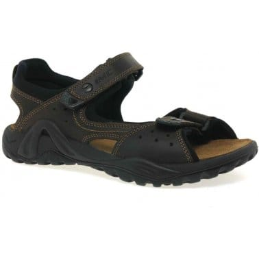 Warlord II Mens Velcro Fastening Sandals