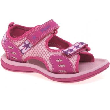 Clarks Star Games Girls Velcro Fastening Sandals