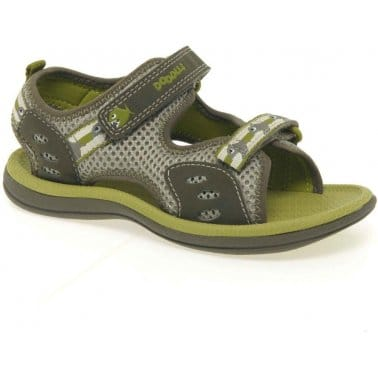 Clarks Piranha Boy Velcro Fastening Boys Sandals