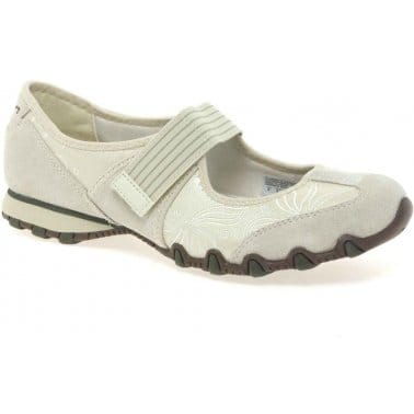 Bikers Mary Jane Womens Casual Shoes