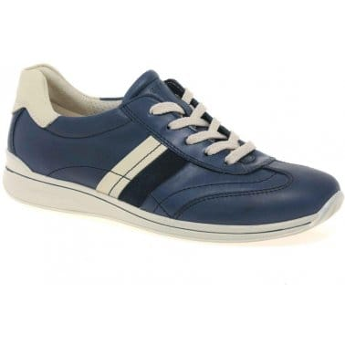 Stroll Womens Lace Up Casual Shoes