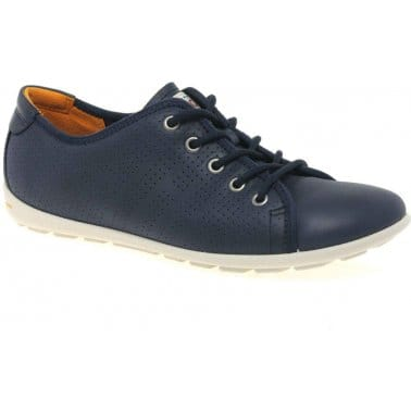 Ecco Fortune Womens Lace Up Casual Shoes