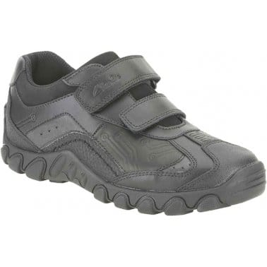 Jack Shine Boys Velcro Fastening Shoes