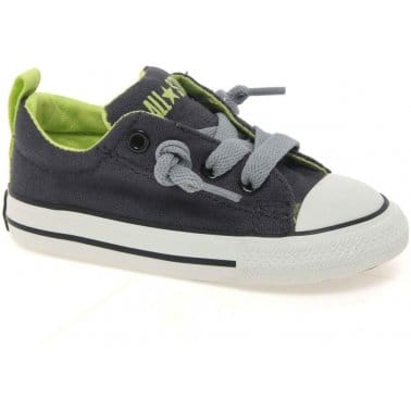Converse All Star Street Boys Lace Up Canvas Shoes