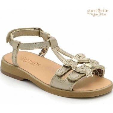 Startrite Firefly Girls Open-Toe Leather Sandals