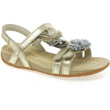 Rio Flower Girls Sandals