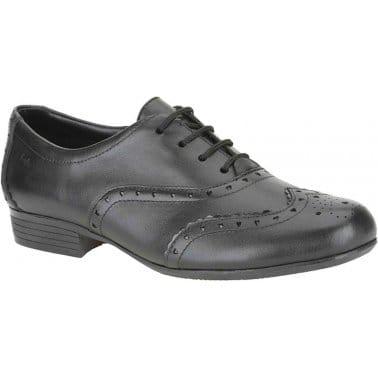 Oriel Ash Girls Leather School Shoes