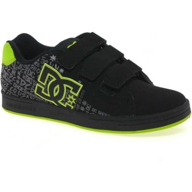 DC Shoes Character Velcro Fastening Boys Trainers