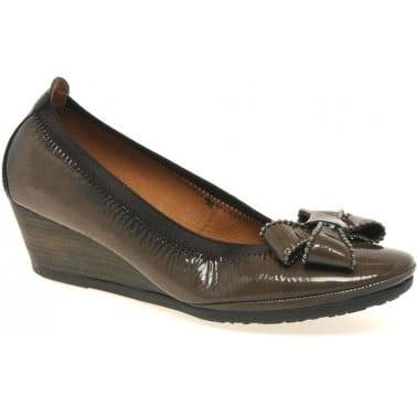 Malba Womens Wedge Heeled Shoes