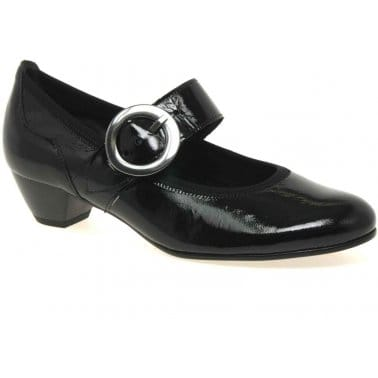 Award Buckle Trim Mary Janes