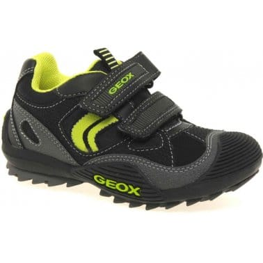 Savage Junior Boys Velcro Fastening Trainers