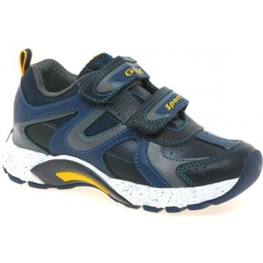 Geox Stark Junior Boys Velcro Fastening Trainers