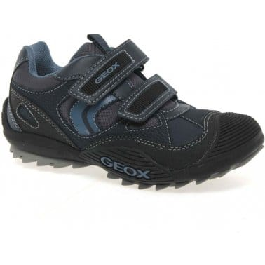 Geox Savage Junior Boys Velcro Fastening Trainers