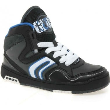 Geox Oracle Junior Boys Lace Up Trainers