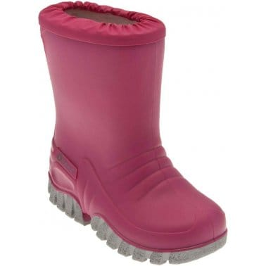 Baby Mudbuster Girls Pink Wellington Boots