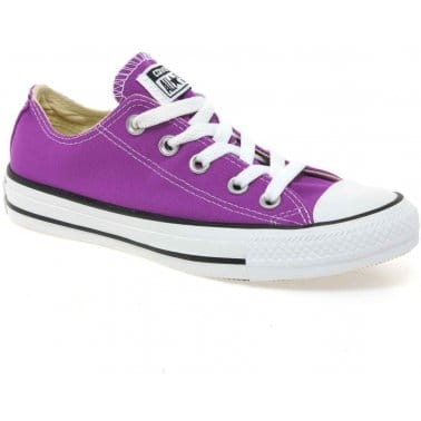 All Star Oxford Senior Girls Canvas Shoes