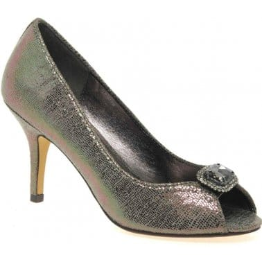 Lizard Womens Dress Court Shoes