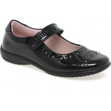 Alexis Girls School Shoes