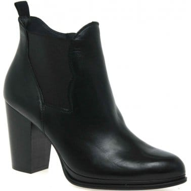 Paul Green West Womens Leather Ankle Boots