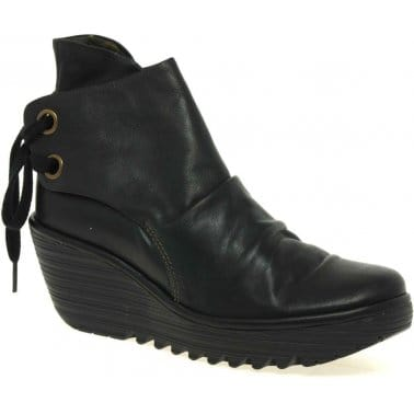 Yama Ladies Casual Ankle Boots